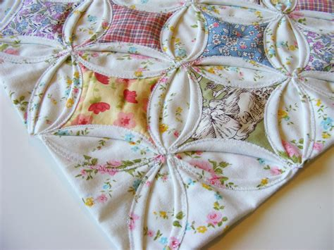 How To Do Cathedral Window Patchwork - cathedral window doll quilt for quilt 4 a photo on