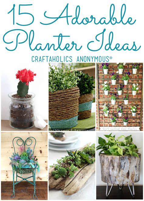 diy planter ideas 15 diy planter ideas for your spring garden diy planters
