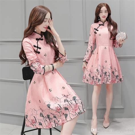 Dress Korea pretty korean dresses 2017 2018 b2b fashion