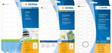 Aufkleber Rund Herma by Herma Selbstklebende Etiketten G 252 Nstig Online Kaufen Real De