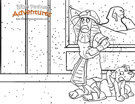 plague of frogs coloring page free bible coloring page the ten plagues plague of flies