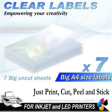 printable clear sticker paper singapore clear sticker paper kamos sticker