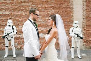 themes in the film her bride organizes her dream star wars themed wedding daily