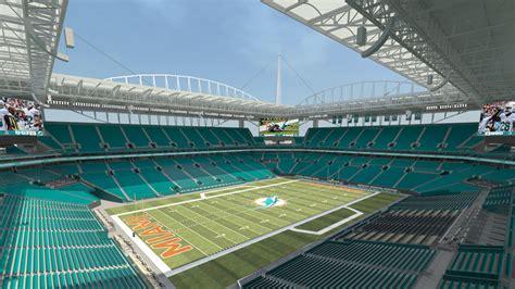 dolphin stadium seats miami dolphins new sun stadium