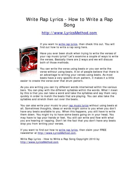 how to write raps on paper 100 how to write a play suggested proverbs for