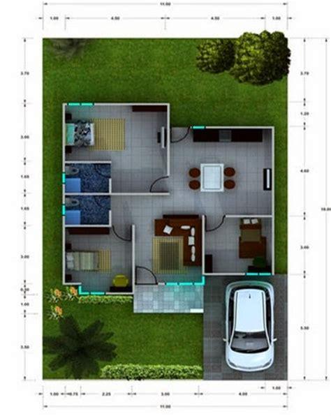 contoh layout rumah minimalis reka bentuk rumah mungil minimalis modern 2015