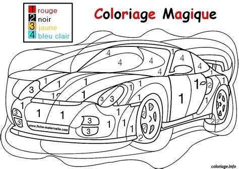 Dessin Magique Voiture De Course Facile Simple Maternelle Coloriage Gratuit A Imprimerl