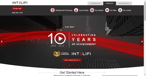 Intelifi Background Check Celebrating 10 Years Of Background Screening Solutions