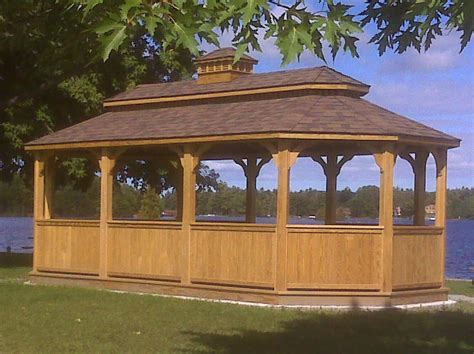 commercial gazebo commercial wooden gazebos