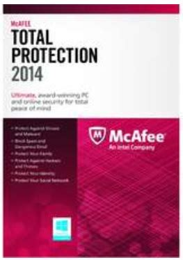 Sale Mcafee Security 2014 3pcs mcafee total protection 2014 for 3 pcs free after mail in rebate kollel budget