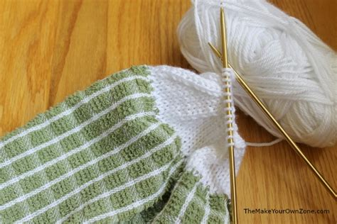 knitted tea towel pattern towel topper knitting pattern the make your own zone