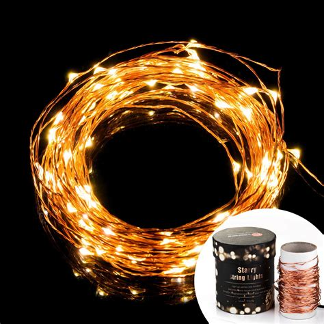 copper wire led lights prettiest led string lights taotronics copper wire