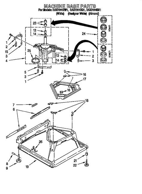 kenmore washing machine diagram wiring diagram