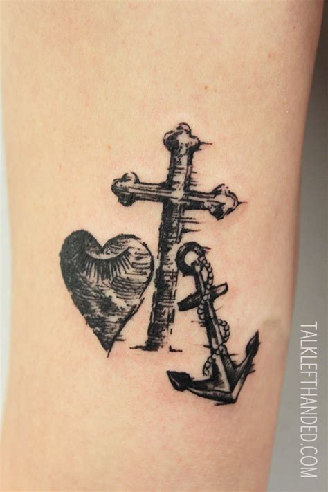 love cross tattoo faith 171 le moustache parlour