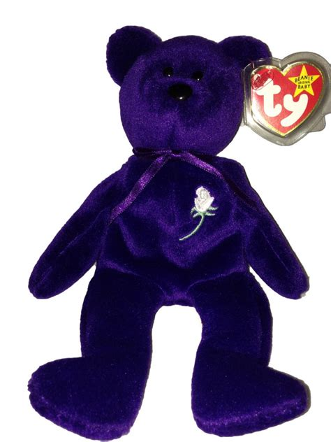 beanie baby authentic 1st edition princess diana 1997 retired