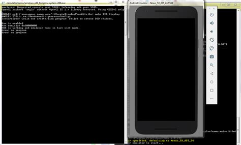Android App Black Screen by Cordova Android Emulator Black Screen When Running Cordova