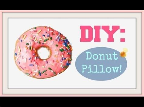 Donut Pillow Diy by 17 Best Images About Diy Pillow Tutorials On Sushi Donuts And Plush