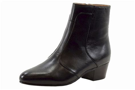 giorgio brutini s calloway black leather cuban heel