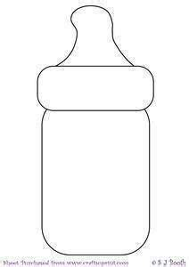 templates for fondant gumpaste on pinterest baby bottle