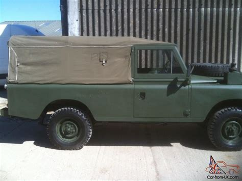 land rover series iii 88 ex military ex military for sale 1984 series 3 ex military 109 ffr landrover land rover