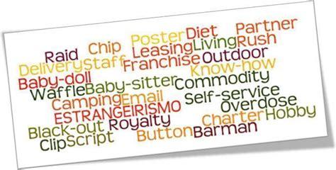 decorar palavras em ingles estrangeirismo o que 233 como surgiu e exemplos