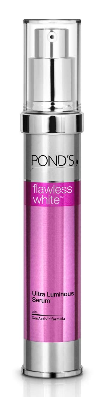 Serum Ponds Flawless White Review review pond s flawless white range