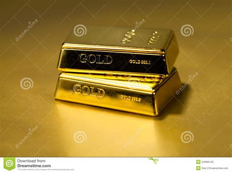 bw bank extend gold gold bullion on golden background stock photos image