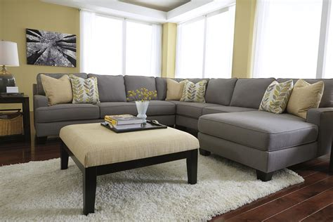 Ottoman For Sectional Sectional Sofa With Oversized Ottoman Hereo Sofa