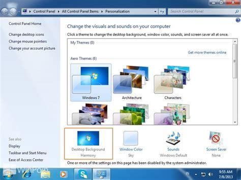 wallpaper whatsapp tidak bisa diganti cara tidak bisa mengganti background desktop di windows 7
