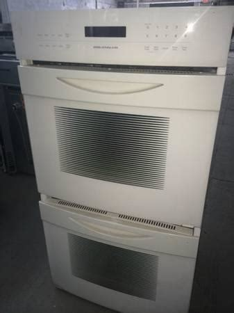 jenn air white double wall oven  sale  clifton