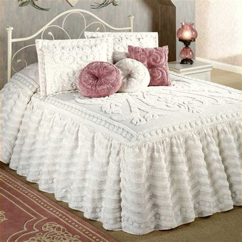 Fashioned Bedspreads Chenille Bedspreads King Size Home Design Remodeling Ideas