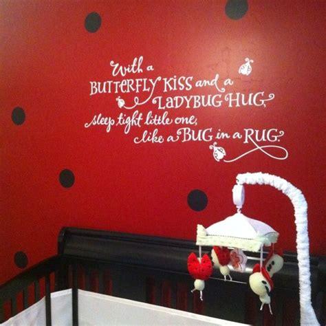 ladybug nursery decor 17 best nursery quotes on family quotes