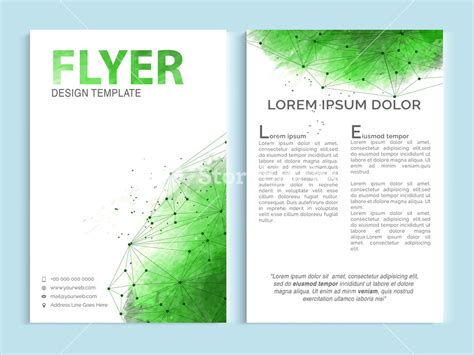 Single Page Brochure Templates Psd by One Page Flyer Design Yourweek 963d0eeca25e