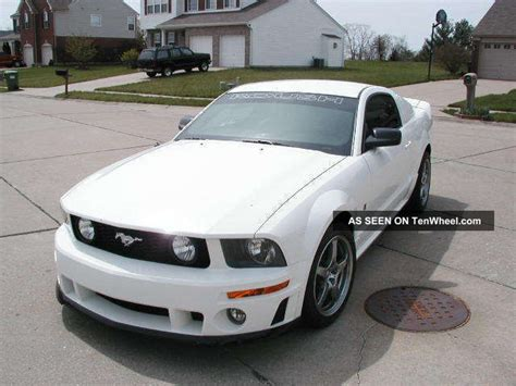 roush mustang 2005 2005 ford mustang roush stage 1 specs