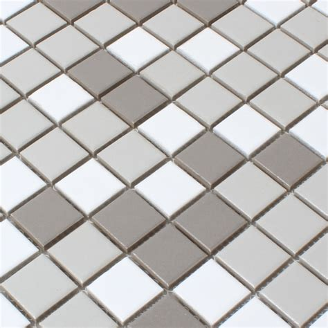 ceramic mosaic tiles white grey anthracite mix tm33248m