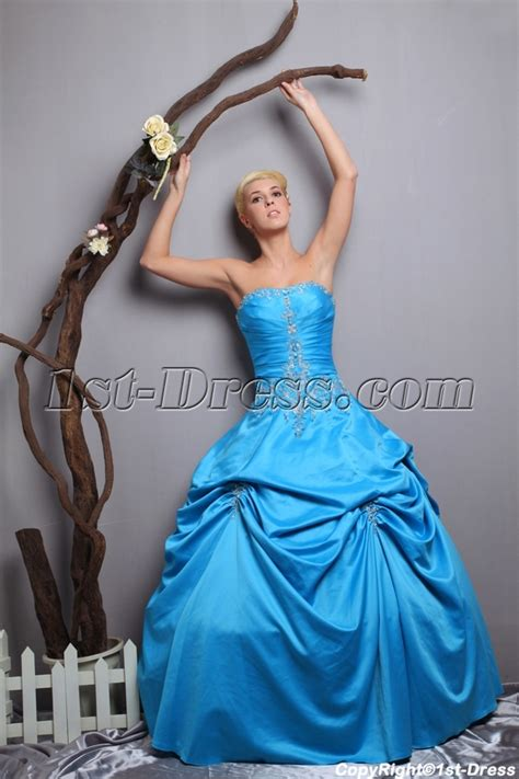 turquoise blue quinceanera dresses 2013 with up skirt