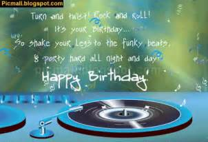 images musical birthday greetings status and cover pic