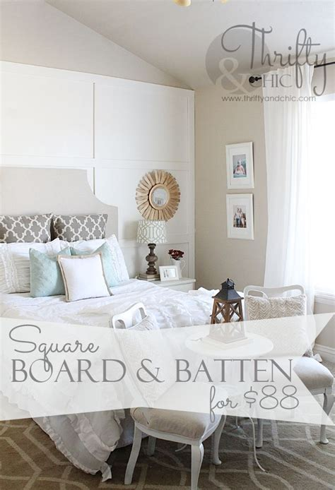 square board  batten wall treatment great idea