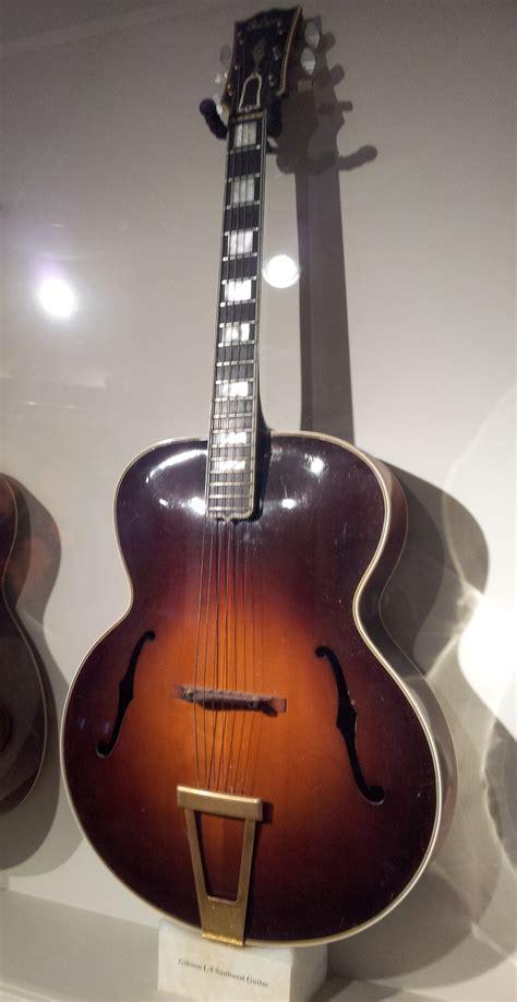 Guitar L by File Gibson L 5 Sunburst Guitar Museum Of