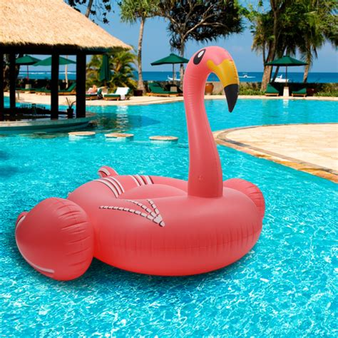 summer swimming pool inflatable swim ring giant rideable