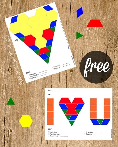 pattern block pictures kindergarten 17 best ideas about pattern blocks on pinterest free