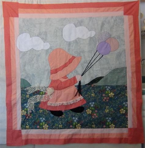 Sunbonnet Sue Quilt Patterns by Sunbonnet Sue Baby Quilt Pattern By Carolynwainscot Craftsy