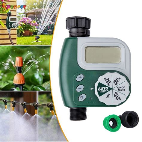 spencer irrigation watering timers lcd  outlet single