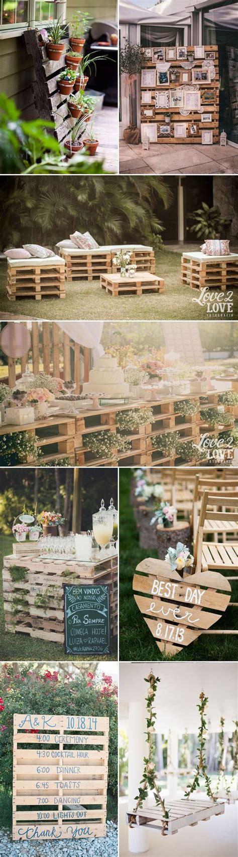 Pallet Wedding Decor 25 Best Ideas About Pallet Wedding On Pinterest Country