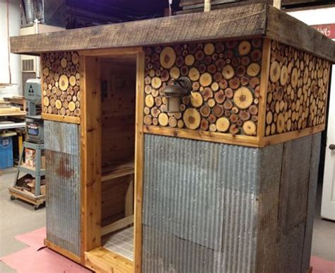 backyard sauna plans this s diy sauna awesome favorite spaces decor