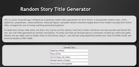 short story themes generator the 25 best story title generator ideas on pinterest