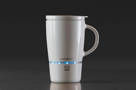 Heated Coffee Mug | goodbye cold brew this mug keeps your coffee at the