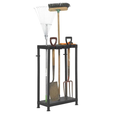 Plastic Tool Rack by Plastic Storage Garden Tool Holder Organizer Ebay
