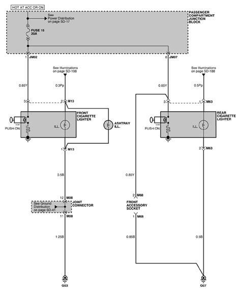 cigarette lighter fan autozone repair guides cigarette lighter power outlet 2001