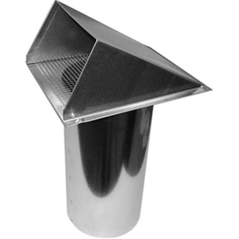 Fireplace Fresh Air Intake by Galvanized Hvac Intake Exhaust Vents Deflecto Advp